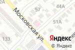 Схема проезда до компании Улыбка №1 в Азове