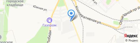 Банкомат АКБ Транскапиталбанк на карте Азова