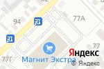 Схема проезда до компании Сакура в Азове
