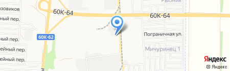 Юг-Импэкс на карте Азова