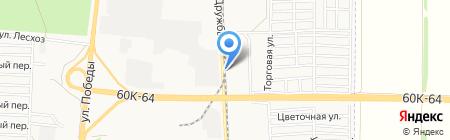 ЕВРАЛИС СЕМАНС РУС на карте Азова