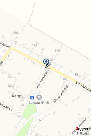 Продуктовый магазин на карте Хапр