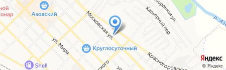 Магнит на карте Азова