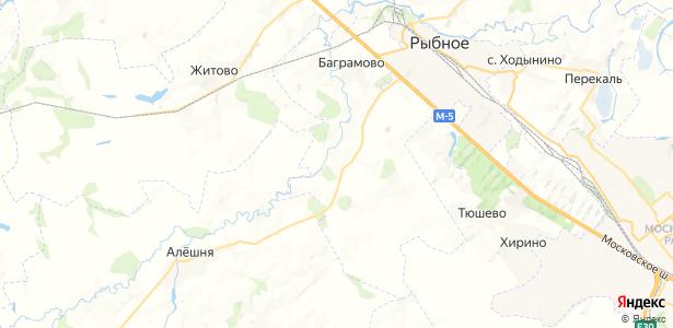Ларино на карте