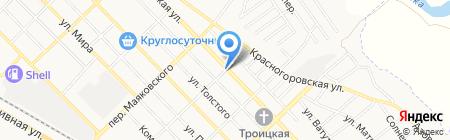 Сантехник на карте Азова