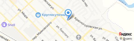 Детский сад №10 на карте Азова