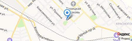 Банкомат Хоум Кредит Энд Финанс Банк на карте Азова