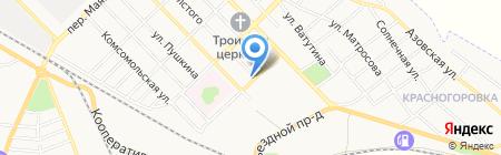 Почтовое отделение №3 на карте Азова