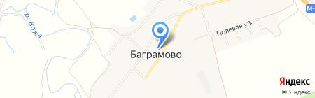 Малышка на карте Баграмово
