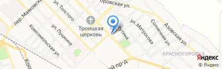 Изумрудный город на карте Азова