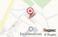 Схема проезда до компании Пункт приема коммунальных платежей в Зеленинских Двориках