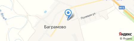 Пункт приема коммунальных платежей на карте Баграмово