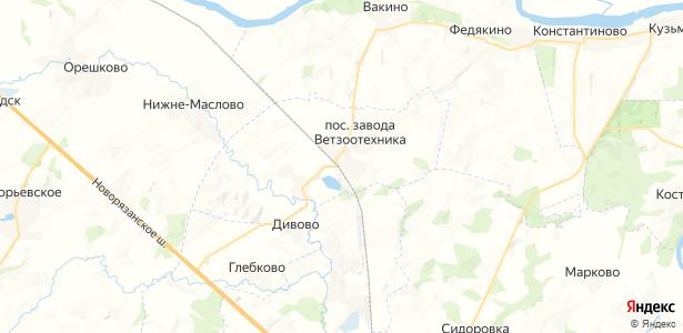 Старолетово на карте