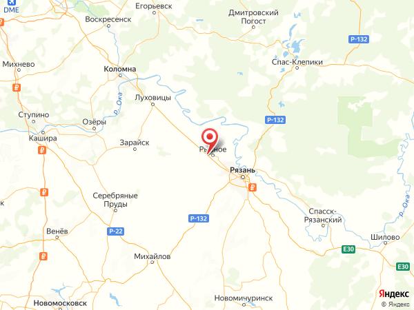 деревня Зеленинские Дворики на карте