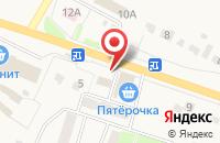 Схема проезда до компании Русский аппетит в Копцевах Хутора