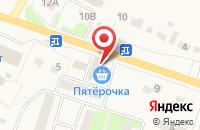 Схема проезда до компании Пятерочка в Кузьминских Отвержках