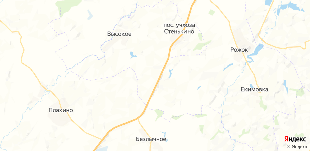 Дёмкино на карте