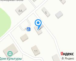 Схема местоположения почтового отделения 601765