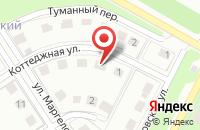 Схема проезда до компании Архангельский лес в Таптыково