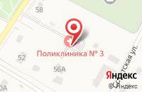 Схема проезда до компании Поликлиника №3 в Кузьминских Отвержках