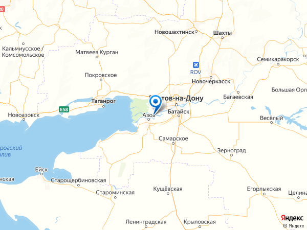 хутор Курган на карте
