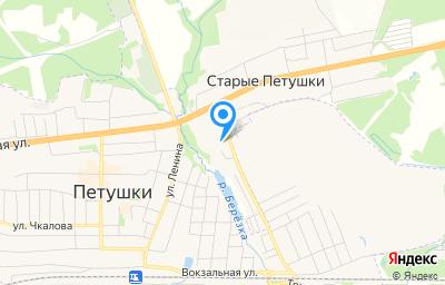 Местоположение на карте пункта техосмотра по адресу Владимирская обл, Петушинский р-н, деревня Старые Петушки, д 146А