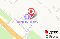 Схема проезда до компании Газпромнефть в Рыбном