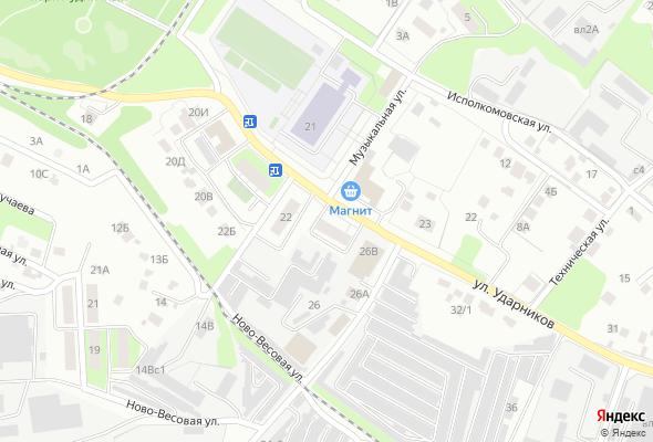 продажа квартир ул. Ударников, 24