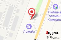 Схема проезда до компании АЗС Лукойл в Ленином