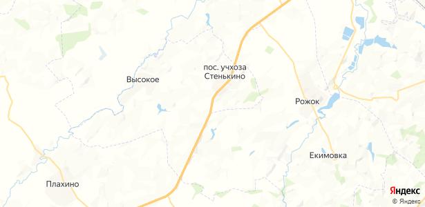 Волдырёвка на карте