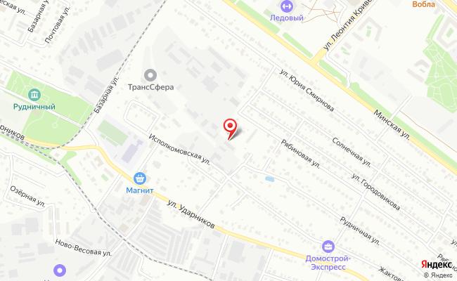 Карта расположения пункта доставки Сеть СПВЗ ЛиСклад в городе Липецк