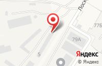 Схема проезда до компании Мебельный цех в Подгорном