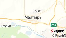 Отели города Чалтырь на карте