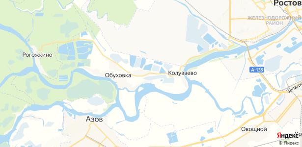 Городище на карте