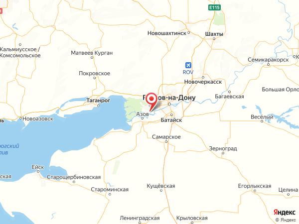 хутор Городище на карте