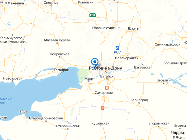 хутор Калинин на карте