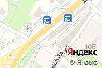 Схема проезда до компании Мир кирпича в Сырском