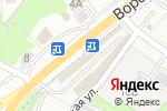 Схема проезда до компании Город Мастеров в Сырском
