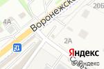 Схема проезда до компании Прицепцентр в Сырском