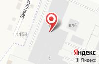 Схема проезда до компании Маэстро в Подгорном
