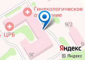 Центральная районная больница Мясниковского района на карте