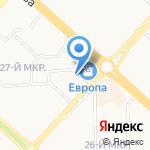 Пивзавод Новолипецкий на карте Липецка