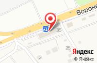 Схема проезда до компании Inauto в Сырском