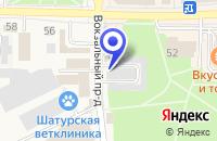 Схема проезда до компании ПТФ СВЯТЕНКО В. В. в Шатуре