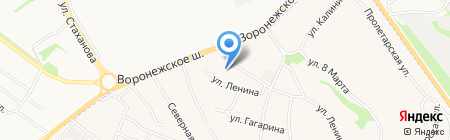 Средняя общеобразовательная школа на карте Сырского