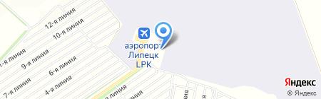 Полет на карте Студеных Выселков