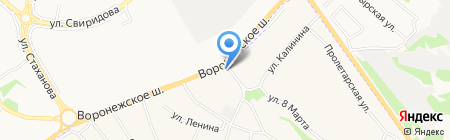 Автомойка на карте Сырского