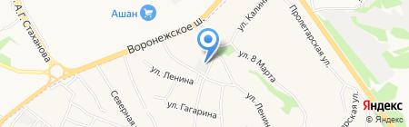 Росичи на карте Сырского