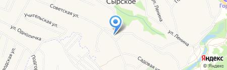 Сырский поселенческий центр культуры и досуга на карте Сырского