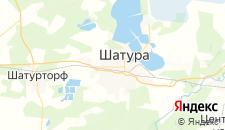 Отели города Шатура на карте